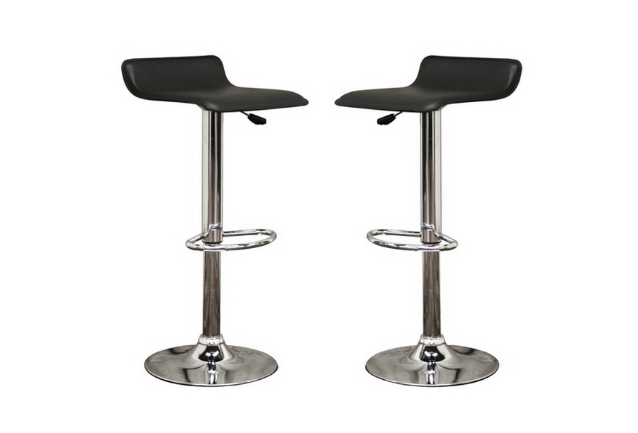Vita Black Faux Leather Modern Bar Stool (Set of 2) Vita Black Faux Leather Modern Bar Stool (Set of 2), IEM-90022-Black Set of 2, compare Vita Black Faux Leather Modern Bar Stool (Set of 2), best price on Vita Black Faux Leather Modern Bar Stool (Set of 2), discount , cheap Vita Black Faux Leather Modern Bar Stool (Set of 2)