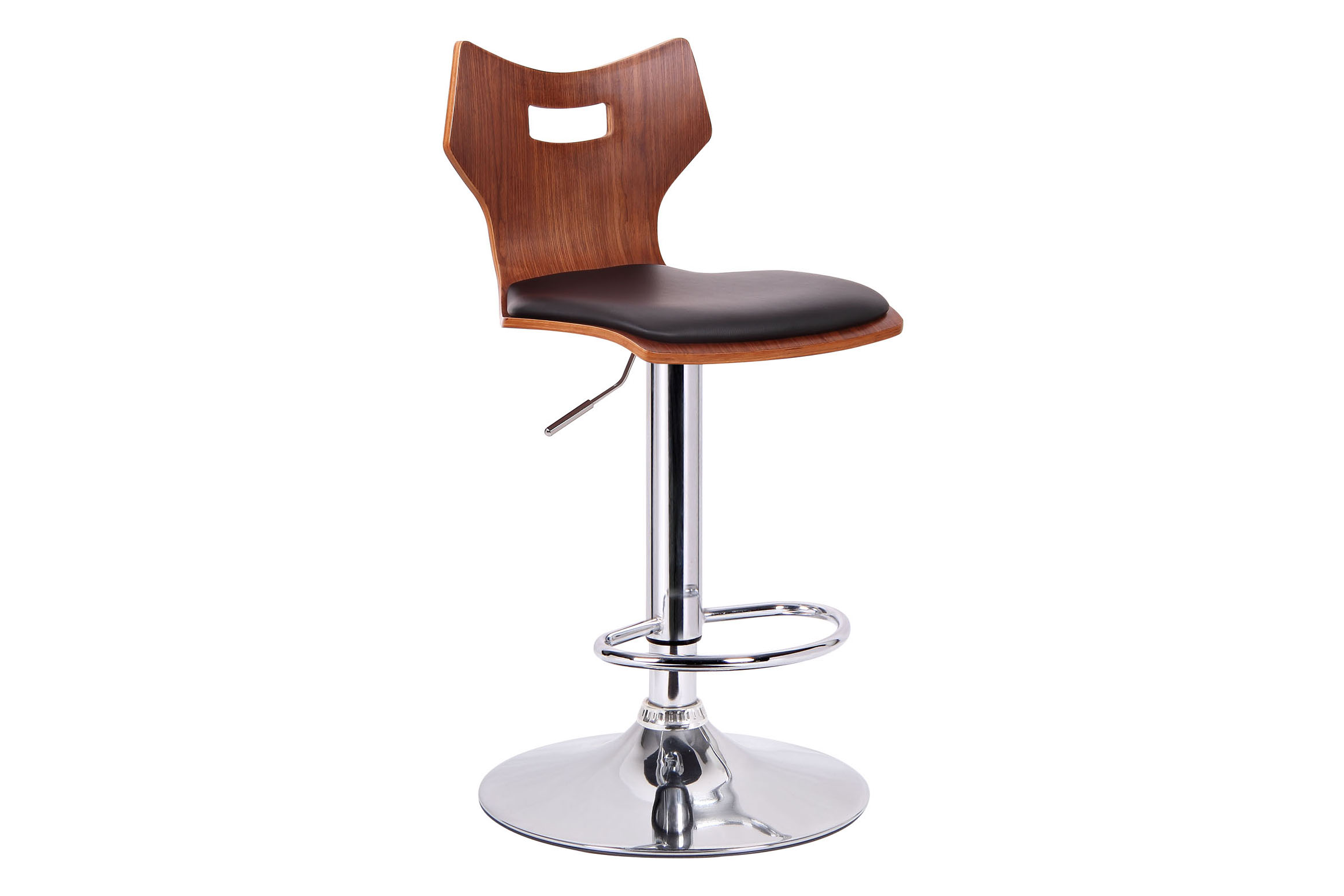 Baxton Studio Amery Walnut and Black Modern Bar Stool Set of Two Amery Walnut and Black Modern Bar Stool ,IESD-2172-walnut/black-PSTL (2),compare Amery Walnut and Black Modern Bar Stool ,best price on Amery Walnut and Black Modern Bar Stool ,discount  Amery Walnut and Black Modern Bar Stool ,cheap  Amery Walnut and Black Modern Bar Stool