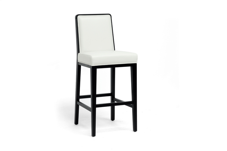 Baxton Studio Theia Black Wood and Cream Leather Modern Bar Stool IEY-977-DU8143, Baxton Studio Theia Black Wood and Cream Leather Modern Bar Stoolcompare IEY-977-DU8143, best price onIEY-977-DU8143, discount IEY-977-DU8143, cheap IEY-977-DU8143