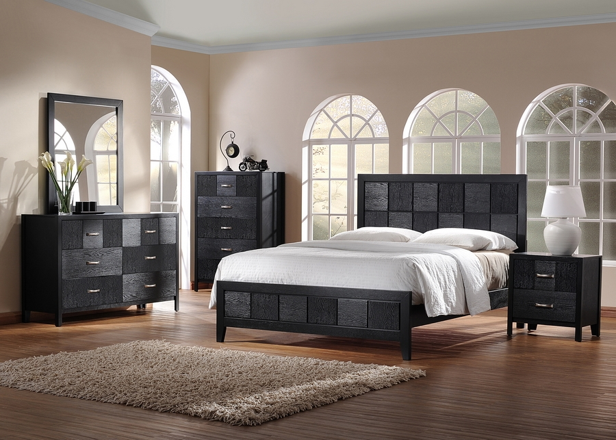 Baxton Studio Montserrat Black Wood 5-Piece Modern Bedroom Set Baxton Studio Montserrat Black Wood 5-Piece Modern Bedroom Set, IE1477-Queen Bed (1), 1477-Dresser (1), 1477-Mirror (1), 1477-Night Stand, compare Baxton Studio Montserrat Black Wood 5-Piece Modern Bedroom Set, best price on Baxton Studio Montserrat Black Wood 5-Piece Modern Bedroom Set, discount Baxton Studio Montserrat Black Wood 5-Piece Modern Bedroom Set, cheap Baxton Studio Montserrat Black Wood 5-Piece Modern Bedroom Set