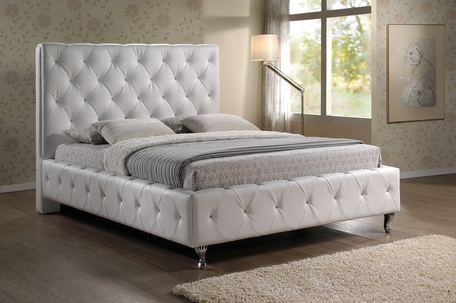 Baxton Studio Stella Crystal Tufted White Modern Bed with Upholstered Headboard - Queen Size Baxton Studio Stella Crystal Tufted White Modern Bed with Upholstered Headboard - Queen Size, IEBBT6220-White-Queencompare Baxton Studio Stella Crystal Tufted White Modern Bed with Upholstered Headboard - Queen Size, best price onBaxton Studio Stella Crystal Tufted White Modern Bed with Upholstered Headboard - Queen Size, discount Baxton Studio Stella Crystal Tufted White Modern Bed with Upholstered Headboard - Queen Size, cheap Baxton Studio Stella Crystal Tufted White Modern Bed with Upholstered Headboard - Queen Size