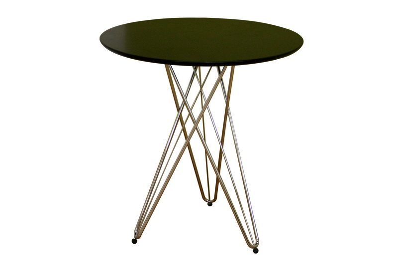 Daimen Black Round Table