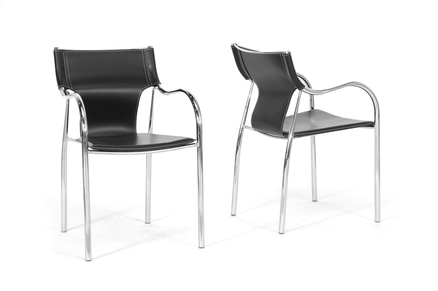 Baxton Studio Harris Black Modern Dining Chair (Set of 2) Baxton Studio Harris Black Modern Dining Chair, IEBLC-133-black-DC, compare Baxton Studio Harris Black Modern Dining Chair, best price on Baxton Studio Harris Black Modern Dining Chair, discount Baxton Studio Harris Black Modern Dining Chair, cheap Baxton Studio Harris Black Modern Dining Chair