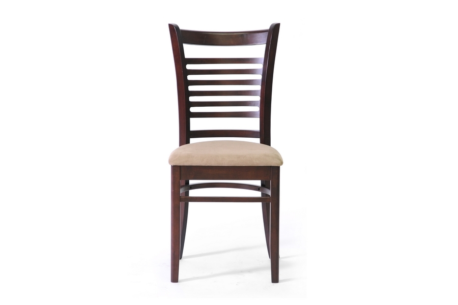 Baxton Studio Cathy Brown Wood Modern Dining Chair (Set of 2) - IECathy Dining Chair-107/309 (2)