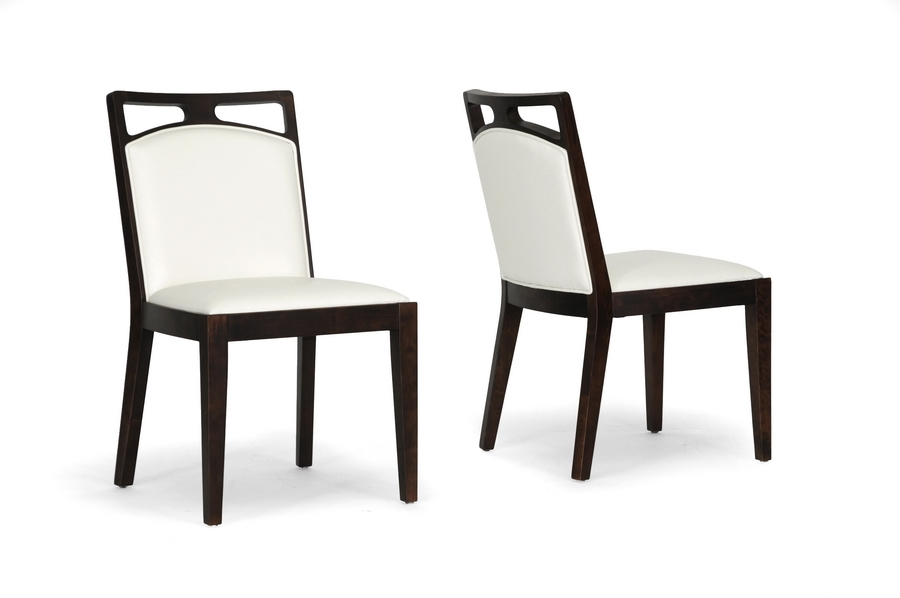 Baxton Studio Pontus Brown Wood and Cream Leather Modern Dining Chair (Set of 2) IEY-1016-DU8143-CC (2), Baxton Studio Pontus Brown Wood and Cream Leather Modern Dining Chair (Set of 2)compare IEY-1016-DU8143-CC (2), best price onIEY-1016-DU8143-CC (2), discount IEY-1016-DU8143-CC (2), cheap IEY-1016-DU8143-CC (2)