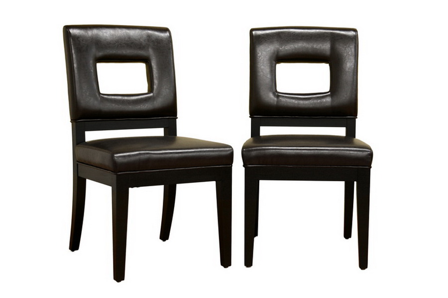 Faustino Dark Brown Leather Dining Chair Set of 2 Faustino Dark Brown Leather Dining Chair Set of 2, IEY-765-FU001-1-Set, compare Faustino Dark Brown Leather Dining Chair Set of 2, best price on Faustino Dark Brown Leather Dining Chair Set of 2, discount Faustino Dark Brown Leather Dining Chair Set of 2, cheap Faustino Dark Brown Leather Dining Chair Set of 2