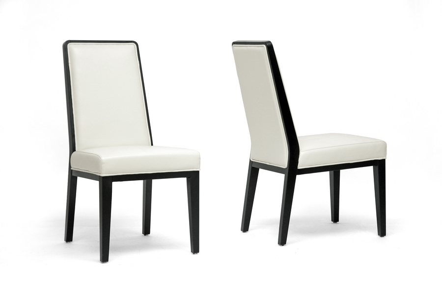 Baxton Studio Theia Black Wood and Cream Leather Modern Dining Chair (Set of 2) IEY-976-DU8143 (2), Baxton Studio Theia Black Wood and Cream Leather Modern Dining Chair (Set of 2)compare IEY-976-DU8143 (2), best price onIEY-976-DU8143 (2), discount IEY-976-DU8143 (2), cheap IEY-976-DU8143 (2)