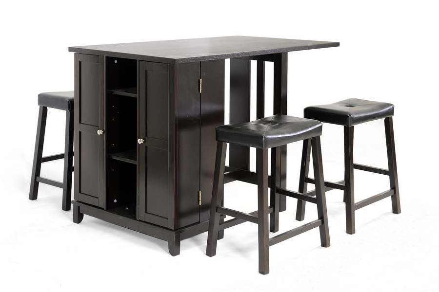 Baxton Studio Aurora 5-Piece Dark Brown Modern Pub Table Set with Cabinet Base Baxton Studio Aurora 5-Piece Dark Brown Modern Pub Table Set with Cabinet Base, IERT204-PUB (1), RT204-STL (4), compare Baxton Studio Aurora 5-Piece Dark Brown Modern Pub Table Set with Cabinet Base, best price on Baxton Studio Aurora 5-Piece Dark Brown Modern Pub Table Set with Cabinet Base, discount Baxton Studio Aurora 5-Piece Dark Brown Modern Pub Table Set with Cabinet Base, cheap Baxton Studio Aurora 5-Piece Dark Brown Modern Pub Table Set with Cabinet Base