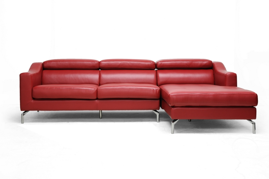 Baxton Studio Levi Red Leather Modern Sectional Sofa IE1655-DU522-RFC, Baxton Studio Levi Red Leather Modern Sectional Sofacompare IE1655-DU522-RFC, best price onIE1655-DU522-RFC, discount IE1655-DU522-RFC, cheap IE1655-DU522-RFC