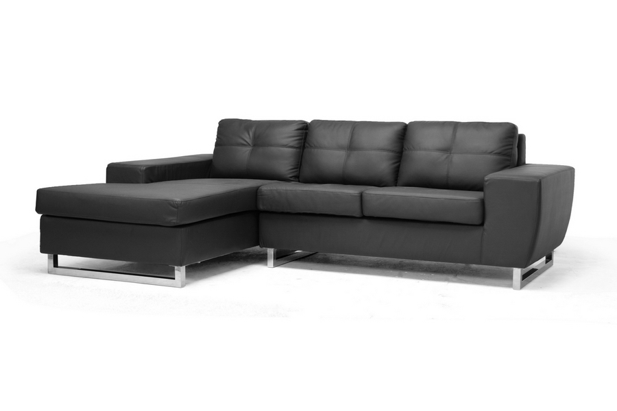 Baxton Studio Corbin Black Modern Sectional Sofa Corbin Black Modern Sectional Sofa,IE308-Sectional-Black-LFC,compare Corbin Black Modern Sectional Sofa, Corbin Black Modern Sectional Sofa,discount Corbin Black Modern Sectional Sofa,cheap  Corbin Black Modern Sectional Sofa