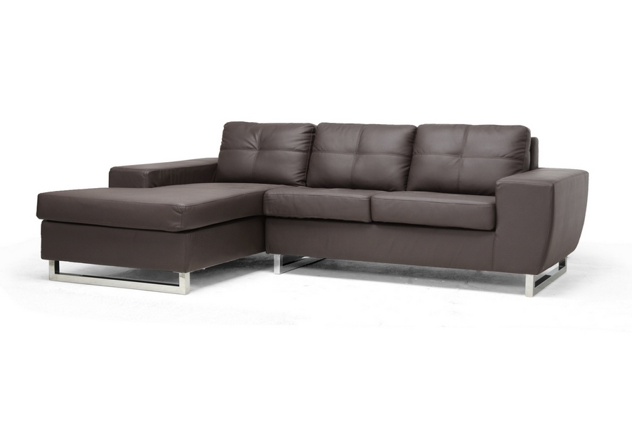 Baxton Studio Corbin Brown Modern Sectional Sofa Corbin Brown Modern Sectional Sofa,IE308-Sectional-Brown-LFC,compare Corbin Brown Modern Sectional Sofa,best price on Corbin Brown Modern Sectional Sofa,discount Corbin Brown Modern Sectional Sofa,cheap  Corbin Brown Modern Sectional Sofa