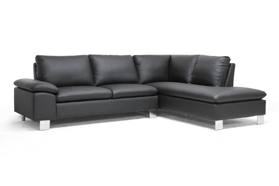Baxton Studio Toria Black Modern Sectional Sofa Toria Black Modern Sectional Sofa,IEA-071 Sectional-Black-RFC,compare Toria Black Modern Sectional Sofa,best price on Toria Black Modern Sectional Sofa,discount  Toria Black Modern Sectional Sofa,cheap  Toria Black Modern Sectional Sofa