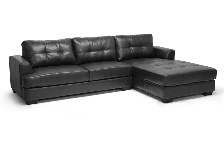 Baxton Studio Dobson Black Leather Modern Sectional Sofa Baxton Studio Dobson Black Leather Modern Sectional Sofa, IEIDS070LT-SEC-RFC Black, compare Baxton Studio Dobson Black Leather Modern Sectional Sofa, best price on Baxton Studio Dobson Black Leather Modern Sectional Sofa, discount Baxton Studio Dobson Black Leather Modern Sectional Sofa, cheapBaxton Studio Dobson Black Leather Modern Sectional Sofa