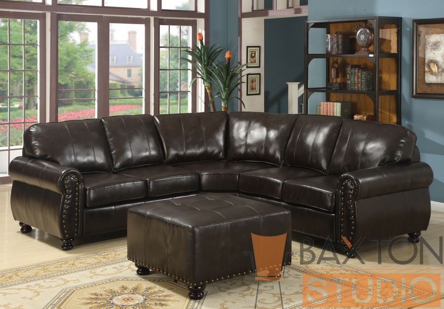 Baxton Studio Hammond Brown Leather Modern Sectional Sofa Baxton Studio Hammond Brown Leather Modern Sectional Sofa, IE9178-LAF-Love (1), 9178-Wedge (1), 9178-RAF-Love (1), 9178-Ottoman (1), compare Baxton Studio Hammond Brown Leather Modern Sectional Sofa, best price on Baxton Studio Hammond Brown Leather Modern Sectional Sofa, discount Baxton Studio Hammond Brown Leather Modern Sectional Sofa, cheap Baxton Studio Hammond Brown Leather Modern Sectional Sofa