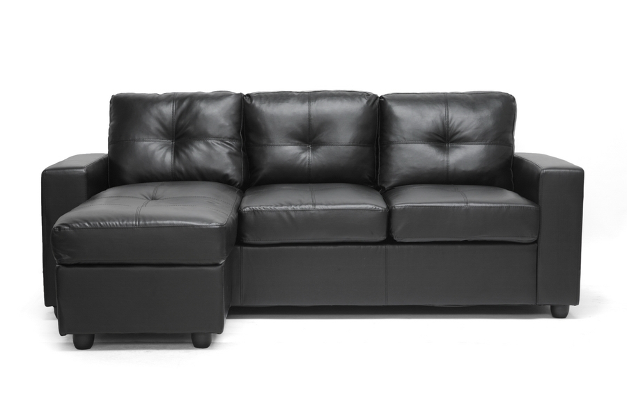 Baxton Studio Lisbon Black Modern Sofa with Reversible Chaise Baxton Studio Lisbon Black Modern Sofa with Reversible Chaise, IEBF007-1-Black-SFcompare Baxton Studio Lisbon Black Modern Sofa with Reversible Chaise, best price onBaxton Studio Lisbon Black Modern Sofa with Reversible Chaise, discount Baxton Studio Lisbon Black Modern Sofa with Reversible Chaise, cheap Baxton Studio Lisbon Black Modern Sofa with Reversible Chaise