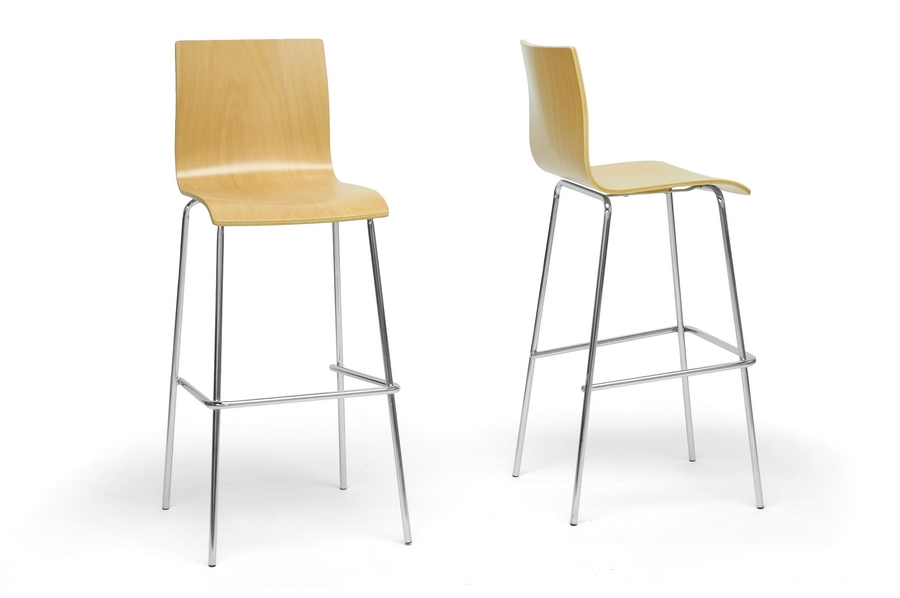 Baxton Studio Sydney Plywood Modern Bar Stool Sydney Plywood Modern Bar Stool, IESD-2111A-PSTL, best price on Sydney Plywood Modern Bar Stool, discount Sydney Plywood Modern Bar Stool, cheap Sydney Plywood Modern Bar Stool