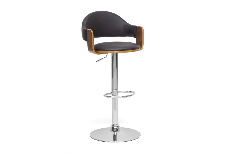 Baxton Studio Berne Black Modern Bar Stool Berne Black Modern Bar Stool, IESDM-2219-PSTL, best price on Berne Black Modern Bar Stool, discount Berne Black Modern Bar Stool, cheap Berne Black Modern Bar Stool