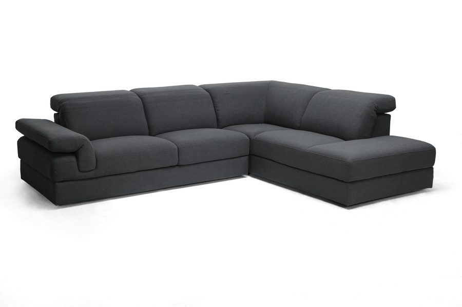 Baxton Studio Liesel Dark Gray Modern Sectional Sofa Liesel Dark Gray Modern Sectional Sofa, IETD2911-AD066-3-SECTNL, best price on Liesel Dark Gray Modern Sectional Sofa, discount Liesel Dark Gray Modern Sectional Sofa, cheap Liesel Dark Gray Modern Sectional Sofa