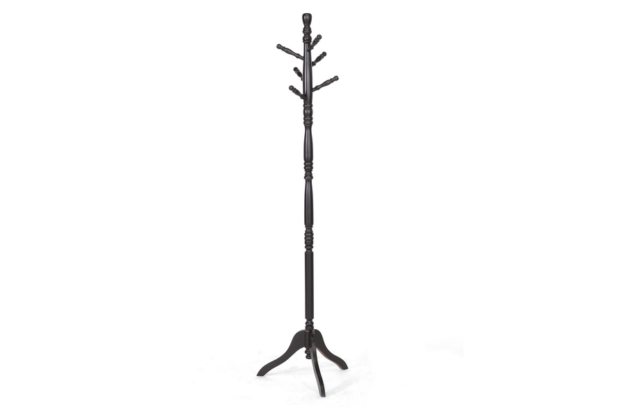 Baxton Studio Oliver Dark Brown Turned Wood Coat Stand Baxton Studio Oliver Dark Brown Turned Wood Coat Stand, IECoat Hanger-0509061, compare Baxton Studio Oliver Dark Brown Turned Wood Coat Stand, best price on Baxton Studio Oliver Dark Brown Turned Wood Coat Stand, discount Baxton Studio Oliver Dark Brown Turned Wood Coat Stand, cheap Baxton Studio Oliver Dark Brown Turned Wood Coat Stand