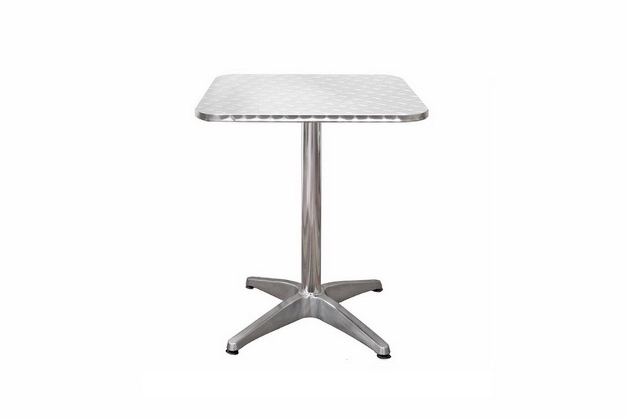 Inox Aluminum Modern Cafe Table with Square Silver Top Inox Aluminum Modern Cafe Table with Square Silver Top, IEInox 600mm Square Table and Leg, compare Inox Aluminum Modern Cafe Table with Square Silver Top, best price onInox Aluminum Modern Cafe Table with Square Silver Top, discount Inox Aluminum Modern Cafe Table with Square Silver Top, cheap Inox Aluminum Modern Cafe Table with Square Silver Top