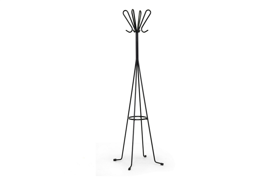 Baxton Studio Chronos Black Metal Modern Coat Stand Chronos Black Metal Modern Coat Stand, RK115-black-CTHGR compare Chronos Black Metal Modern Coat Stand, discount Chronos Black Metal Modern Coat Stand, cheap Chronos Black Metal Modern Coat Stand