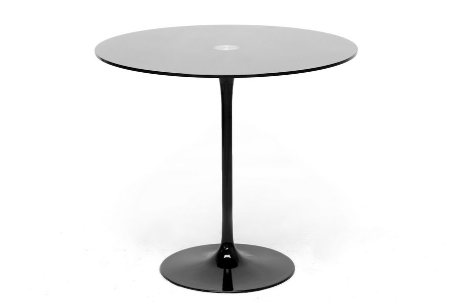 Baxton Studio Odensa Black Glass Modern Bistro Table Baxton Studio Odensa Black Glass Modern Bistro Table, IERT-526-Black (80cm), compare Baxton Studio Odensa Black Glass Modern Bistro Table, best price on Baxton Studio Odensa Black Glass Modern Bistro Table, discount Baxton Studio Odensa Black Glass Modern Bistro Table, cheap Baxton Studio Odensa Black Glass Modern Bistro Table