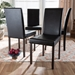 Baxton Studio Andrew Modern Dining Chair (Set of 4) - IEAndrew Dining Chair