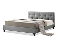 Baxton Studio Annette Gray Linen Modern Bed with Upholstered Headboard - Full Size Annette Gray Linen Modern Bed with Upholstered Headboard - Full Size, IEBBT6140A2-Full-Grey DE800compare Annette Gray Linen Modern Bed with Upholstered Headboard - Full Size, best price onAnnette Gray Linen Modern Bed with Upholstered Headboard - Full Size, discount Annette Gray Linen Modern Bed with Upholstered Headboard - Full Size, cheap Annette Gray Linen Modern Bed with Upholstered Headboard - Full Size