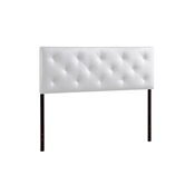 Baxton Studio Bedford White Queen Sized Headboard Baxton Studio Bedford White Queen Sized Headboard, Bedroom Furniture