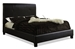 Baxton Studio Cambridge Bed-Full Size - IEJS-V04 Dark brown-Full