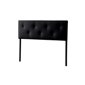 Baxton Studio Kirchem Upholstered Black Queenl Sized Headboard Baxton Studio Kirchem Upholstered Black Queenl Sized Headboard, Bedroom Furniture
