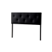 Baxton Studio Kirchem Upholstered Black Queenl Sized Headboard - IEBBT6432-Black-HB-Queen