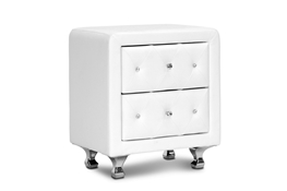 Baxton Studio Stella Crystal Tufted White Upholstered Modern Nightstand Baxton Studio Stella Crystal Tufted White Upholstered Modern Nightstand, BBT3084-White-NS compare Baxton Studio Stella Crystal Tufted White Upholstered Modern Nightstand, best price on Baxton Studio Stella Crystal Tufted White Upholstered Modern Nightstand, discount Baxton Studio Stella Crystal Tufted White Upholstered Modern Nightstand, cheap Baxton Studio Stella Crystal Tufted White Upholstered Modern Nightstand