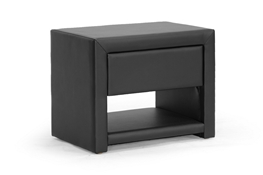 Baxton Studio Massey Black Upholstered Modern Nightstand Baxton Studio Massey Black Upholstered Modern Nightstand, BBT3092-Black-NS compare Baxton Studio Massey Black Upholstered Modern Nightstand, best price on Baxton Studio Massey Black Upholstered Modern Nightstand, discount Baxton Studio Massey Black Upholstered Modern Nightstand, cheap Baxton Studio Massey Black Upholstered Modern Nightstand