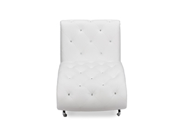 Baxton Studio Pease Contemporary White Faux Leather Upholstered Crystal Button Tufted Chaise Lounge Baxton Studio Pease Contemporary White Faux Leather Upholstered Crystal Button Tufted Chaise Lounge  , BBT5187-White-Chaise, compare Baxton Studio Pease Contemporary White Faux Leather Upholstered Crystal Button Tufted Chaise Lounge  , best price on Baxton Studio Pease Contemporary White Faux Leather Upholstered Crystal Button Tufted Chaise Lounge  , discount Baxton Studio Pease Contemporary White Faux Leather Upholstered Crystal Button Tufted Chaise Lounge  , cheap Baxton Studio Pease Contemporary White Faux Leather Upholstered Crystal Button Tufted Chaise Lounge