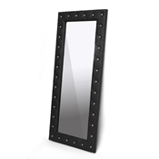 Baxton Studio Stella Crystal Tufted Black Modern Floor Mirror Stella Crystal Tufted Black Modern Floor Mirror, IEBBTM27-black-Mirror, best price on Stella Crystal Tufted Black Modern Floor Mirror, discount Stella Crystal Tufted Black Modern Floor Mirror, cheap Stella Crystal Tufted Black Modern Floor Mirror