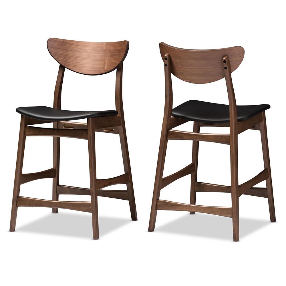 mid century counter stools Baxton Studio Latina Mid century Retro Modern Scandinavian Style  mid century counter stools