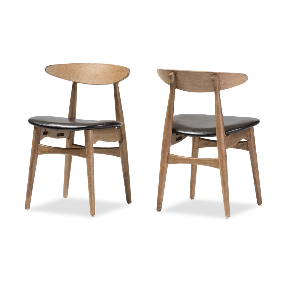 Light Oak Upholstered Dining Room Chairs