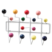 Baxton Studio Penny Mid-Century Modern Multi-Colored Coat Hanger Baxton Studio restaurant furniture, hotel furniture, commercial furniture, wholesale entryway furniture, wholesale hanger, classic coat hangar