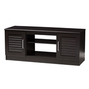 Baxton Studio Gianna Modern and Contemporary Wenge Brown Finished TV Stand Baxton Studio restaurant furniture, hotel furniture, commercial furniture, wholesale living room furniture, wholesale tv stand, classic tv stands