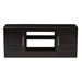 Baxton Studio Gianna Modern and Contemporary Wenge Brown Finished TV Stand - IEMH8070-Wenge-TV