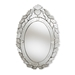 Baxton Studio Livia Classic and Traditional Silver Finished Venetian Style Accent Wall Mirror - IERXW-6162-1