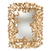 Baxton Studio Idalia Modern and Contemporary Antique Gold Finished Butterfly Accent Wall Mirror - IERXW-6160