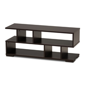Baxton Studio Arne Modern and Contemporary Dark Brown Finished Wood TV Stand Baxton Studio restaurant furniture, hotel furniture, commercial furniture, wholesale living room furniture, wholesale tv stand, classic tv stand