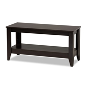Baxton Studio Elada Modern and Contemporary Wenge Finished Wood Coffee Table Baxton Studio restaurant furniture, hotel furniture, commercial furniture, wholesale living room furniture, wholesale coffee table, classic coffee table