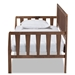 Baxton Studio Midori Modern and Contemporary Transitional Walnut Brown Finished Wood Twin Size Daybed - IEMG0046-1-Walnut-Daybed