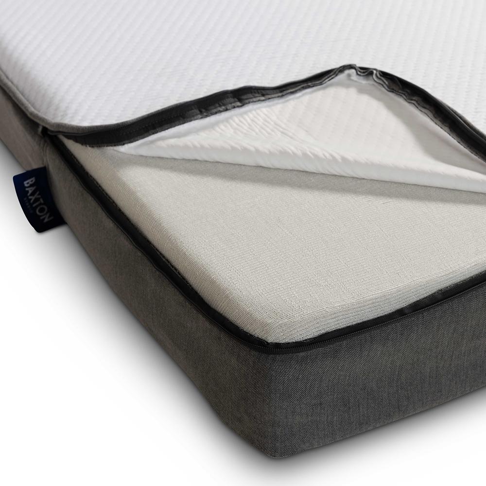 Baxton Studio Emery 6-Inch Dual Layered Hypoallergenic ...