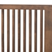 Baxton Studio Kioshi Mid-Century Modern Transitional Ash Walnut Finished Wood King Size Platform Bed - IEKioshi-Ash Walnut-King