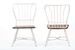 "Baxton Studio Longford ""Dark-Walnut"" Wood and White Metal Vintage Industrial Dining Chair (Set of 2) - IECDC271-DS2-WWXX (2)"