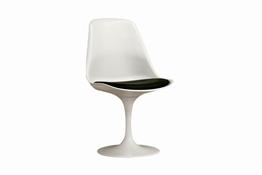 Baxton Studio Osmaston Gray Linen Modern Accent Chair